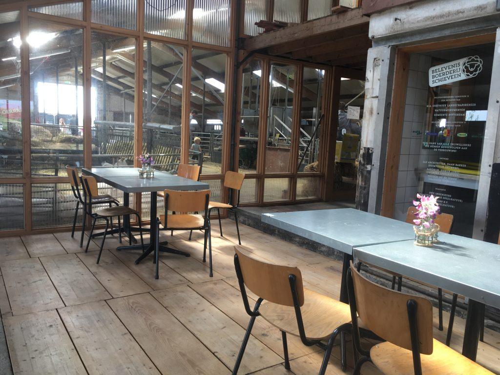 Belevenisboerderij Schieveen lunchroom