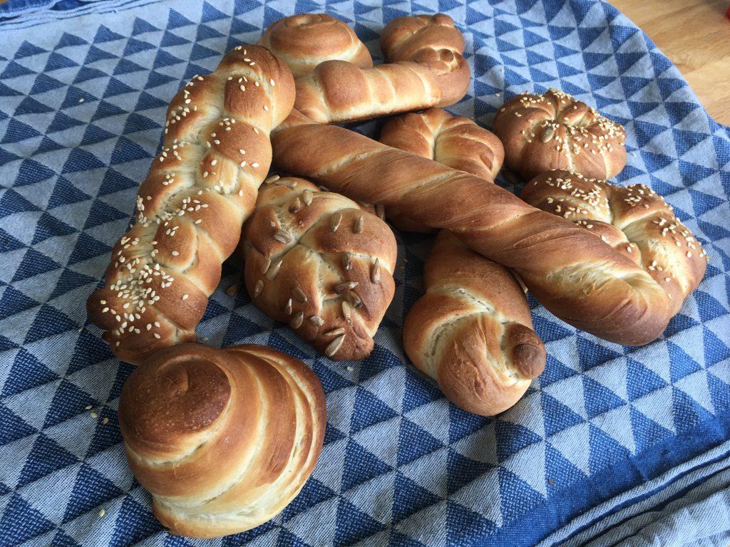 Broodjesbakken resultaat warme broodjes